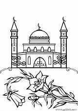 Coloring Mosque Masjid Drawing Ramadan Colouring صور تلوين مساجد Minaret Islamic Jawaher Template Sketch Printable Allah Getcolorings Explore Idea Paintingvalley sketch template