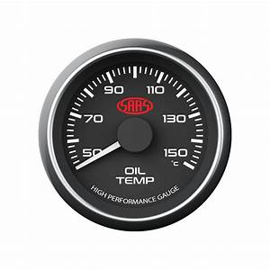 Vy Vz Commodore Clip  Black Oil Temp And