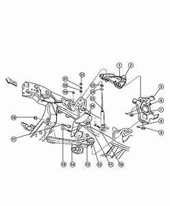 Dodge Dakota Knuckle  Left  Front  Suspension  Shocks  Control