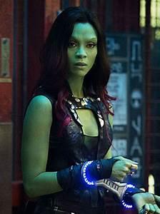 Guardians Galaxy 2 Gamora Zoe Saldana Leather Vest - New ...