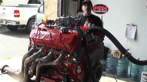 This Chevy 572 Big Block Engine Produces 750hp! Rip For