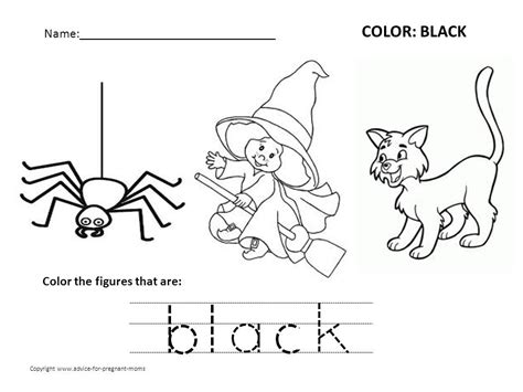 black worksheet free preschool worksheets for learning colors advice for