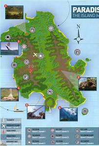 Lost images Lost Island Map by empire magazine HD ...