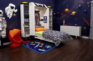 Being, A, Space, Traveller, In, The, Space-themed, Bedroom