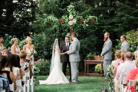 weddings outdoor weddings receptions in bellingham