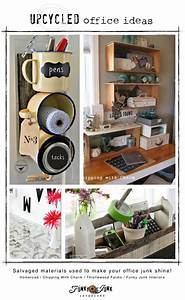 Upcycled office storage ideasFunky Junk Interiors