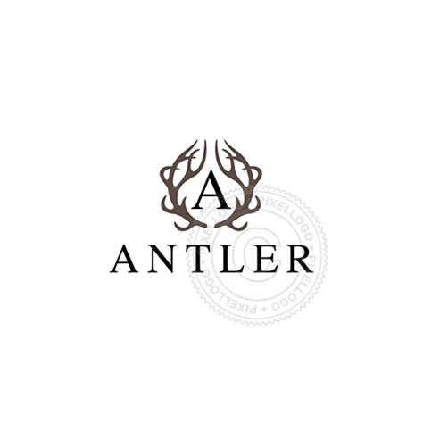 antler tattoo logo  tattoo parlour   bar pixellogo