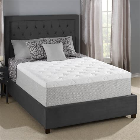 serta memory foam mattress serta 14 inch gel memory foam mattress review