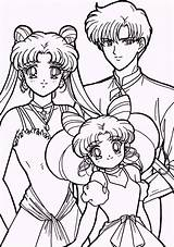 Sailor Moon Coloring Pages Sheets Usagi Sailormoon Chibiusa Mamoru Adult Printable Young Colouring Drawing Coloringpagesfortoddlers Character Anime Books Dibujos Getcolorings sketch template