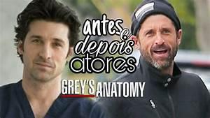 Antes e Depois Atores de Grey's Anatomy |MS - YouTube