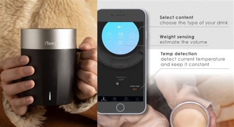 After initially pairing your mug to your device via bluetooth, and setting your preferred temperature and other customization options, you likely won't spend a lot of time in the ember app. iTemp: Bluetooth Smart Mug with Temperature Control