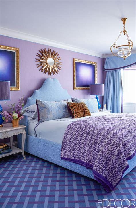 chambre bleu violet 1001 idées pour la décoration d 39 une chambre gris et violet