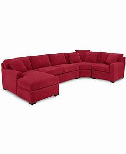 radley 4 piece fabric chaise sectional sofa custom colors With radley fabric 6 piece chaise sectional sofa