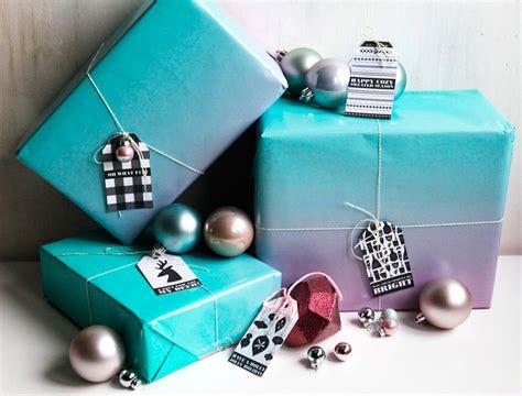 printables black white gift tags  christmas