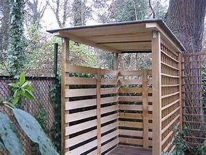 Holzunterstand Selber Bauen : holzunterstand garten ~ Udekor.club Haus und Dekorationen
