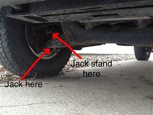 Placement Of Jack Stands On  U0026 39 01 Ford Ranger 4x4