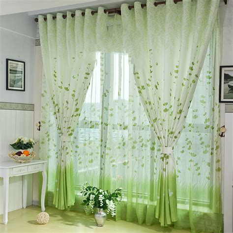2017 country style 3d curtains living room