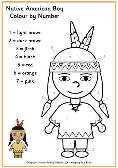 Native American Worksheet For Kids  Crafts And Worksheets For Preschool,toddler And Kindergarten