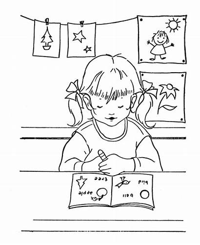 Coloring Pages Middle Students Student Fun Printable