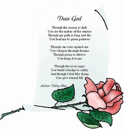 Poem God Dear Watchers