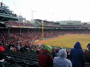 Chicago White Sox Seating Chart View Fenway Park Section Bleacher 42 Row 37 Seat 9 Boston