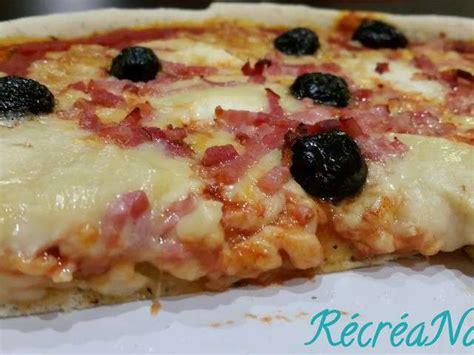 recettes de pizza et cuisine facile