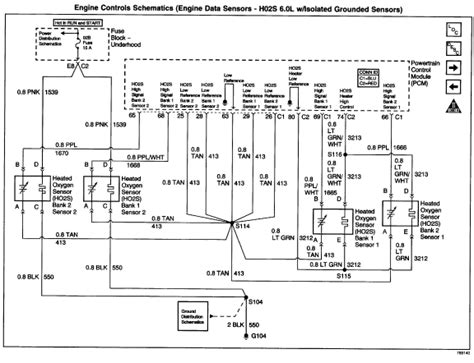 Wiring Diagram For 2007 Gmc Yukon by Need Wiring Diagram 02 Gmc Yukon W 5 3 O2 Sensors S