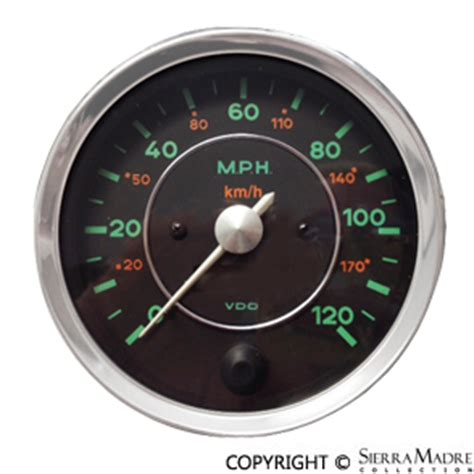 What Is 300 Km In Mph by Porsche Parts Vdo Dual Scale Speedometer Kph Mph