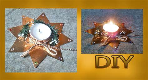 sterne basteln mit kindern basteln f 252 r weihnachten teelicht