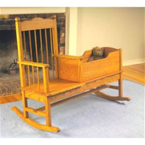 rocker cradle plan woodworking plans