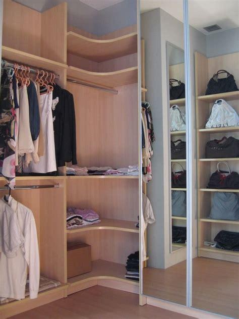 modern corner closet organizer dressing room