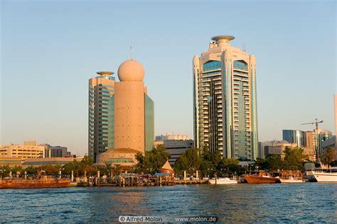 Etisalat Tower And Dubai Creek Tower Photo. The Creek