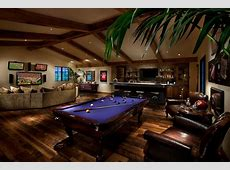 Modern Pool Tables Family Room Contemporary With Bar Area