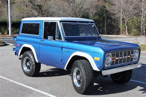 ford bronco   motor classic ford bronco