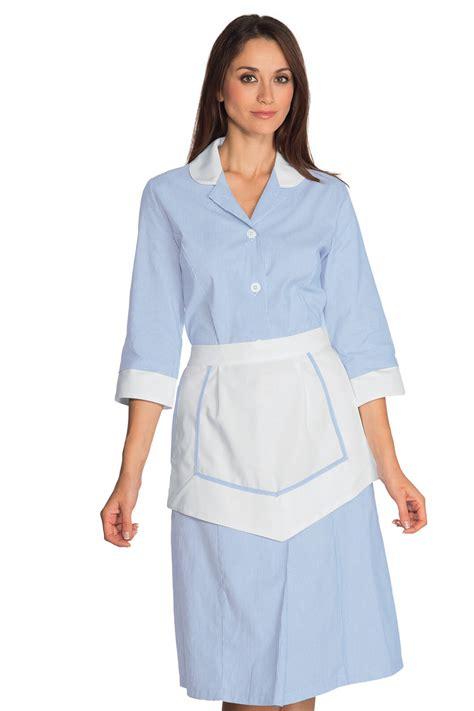 tenue de travail femme de chambre ensemble femme de chambre 100 coton blouse femme de chambre