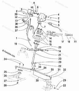 Arctic Cat Atv 2001 Oem Parts Diagram For Steering
