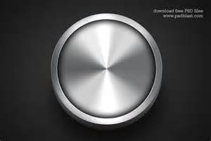 metal design shiny metal button template psd psdblast