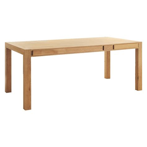 table and storage hana 6 seat oak dining table with storage buy now at