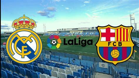 Real Madrid VS Barcelona [El Clasico] Laliga 2020/2021 ...