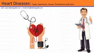 Heart Diseases  Types  Sypmtoms  Causes  Preventions And