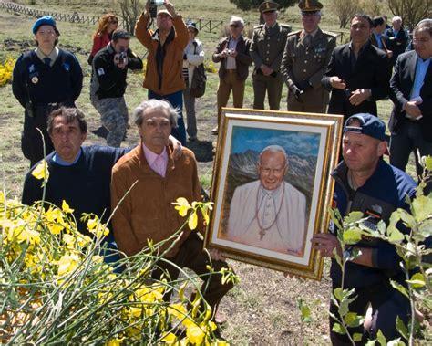 Comune Di Milazzo Ufficio Anagrafe - celebrazione in onore di san paolo ii sull etna