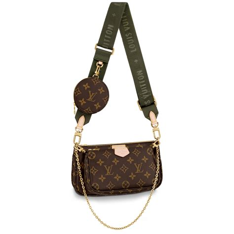 multi pochette accessoires monogram  brown handbags  louis vuitton