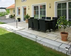 Terrasse Mit Granitplatten : terrasse bruckmeier garten und landschaftsbau ~ Sanjose-hotels-ca.com Haus und Dekorationen
