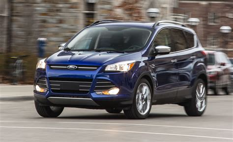 ford escape  ecoboost fwd instrumented test
