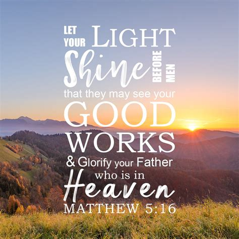 I am a participant in the amazon services llc. Inspirational Verse of the Day - Let Your Light Shine ...
