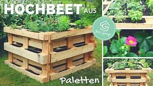 Wie Baut Man Ein Hochbeet : hochbeet aus europaletten selber bauen bauanleitung ~ Frokenaadalensverden.com Haus und Dekorationen