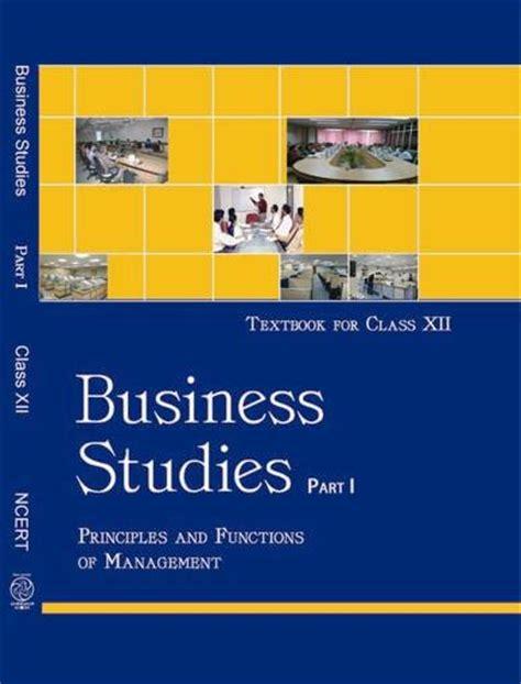ncert book cbse book class 12 businessstudies