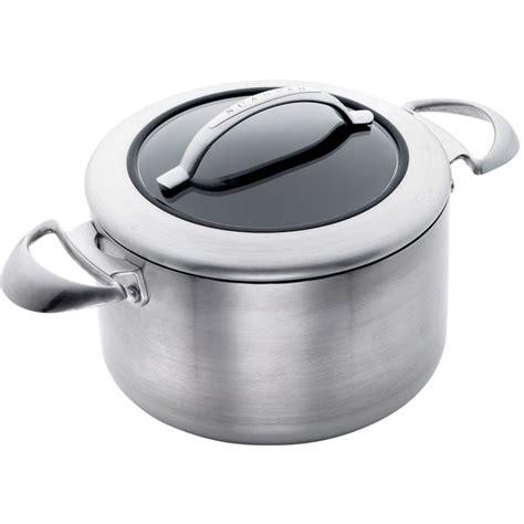 scanpan ctx deep casserole cm durable titanium  stick