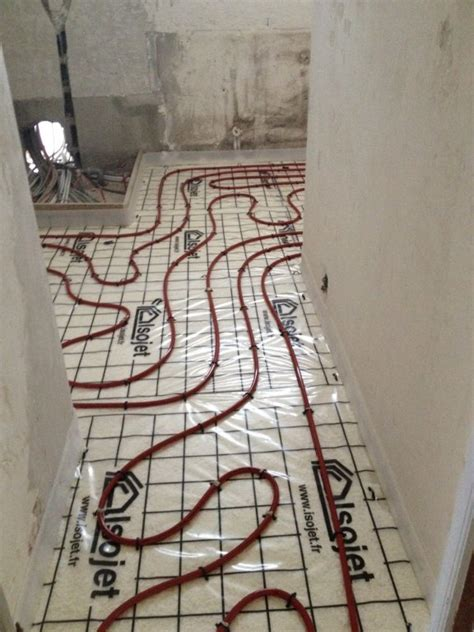pose d un plancher chauffant avec mousse polyur 233 thane projet 233 e dans une maison 224 la crau