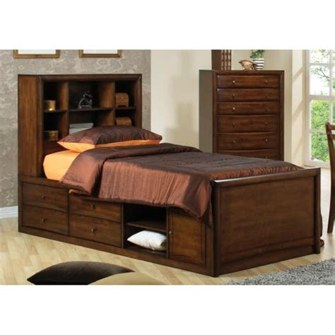 full storage bed with bookcase headboard full storage bed with bookcase headboard homeimproving net